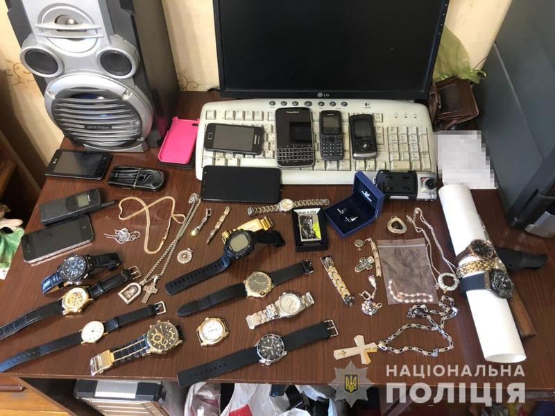 Задержание подозреваемых / npu.gov.ua