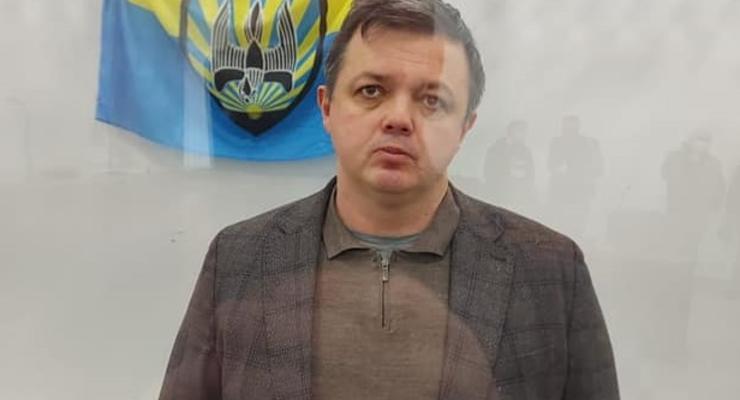 Экс-комбат Семенченко получил подозрение в совершении теракта