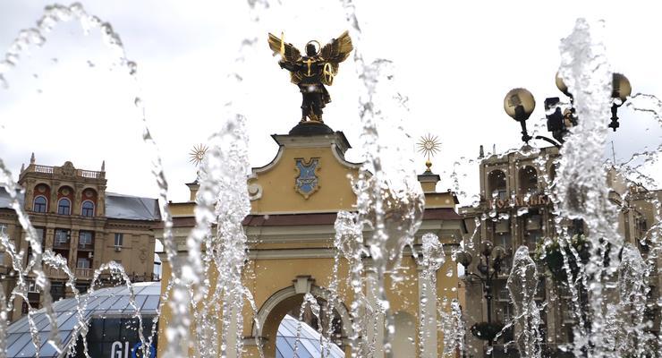 В Киеве заработали фонтаны: Опубликован график