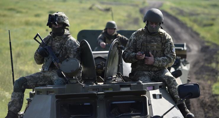 "На Донбассе боевики нарушали ""тишину"" 15 раз и применяли огнеметы"