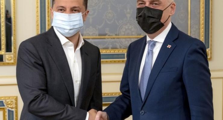 Украина и Грузия восстанавливают отношения, - Зеленский