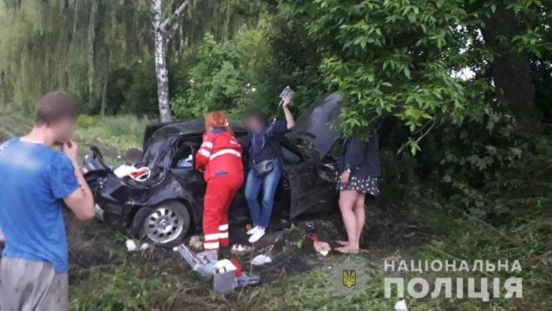 Фото с места аварии / Нацполиция