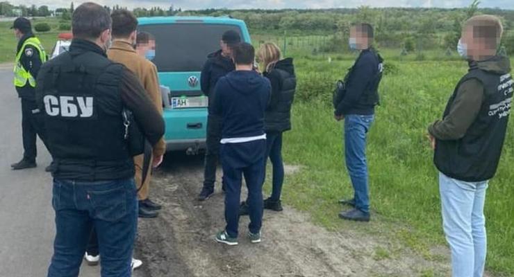 СБУ перекрыла канал нелегальных перевозок из Донецка в Харьков
