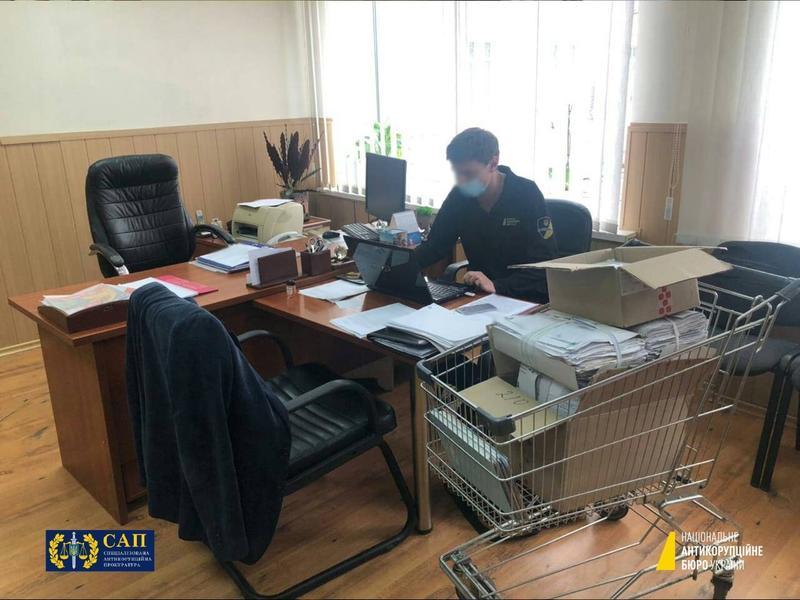 Фото с места обыска / facebook.com/nabu.gov.ua/