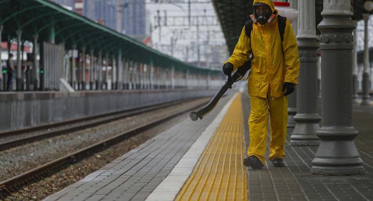 Прирост коронавируса в Украине снижается
