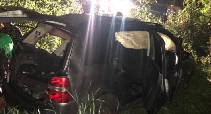 На Винничине пьяный полицейский устроил смертельное ДТП
