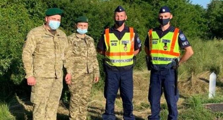 Пограничники Украины и Венгрии возобновили совместное патрулирование