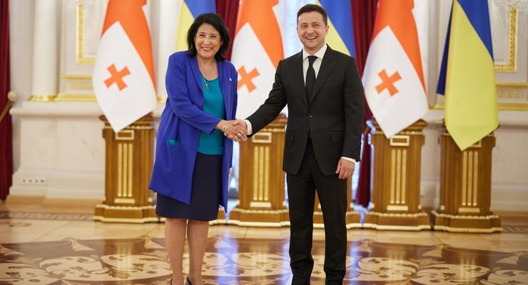Украина и Грузия усилят работу по Черному морю для торговли, – Зеленский