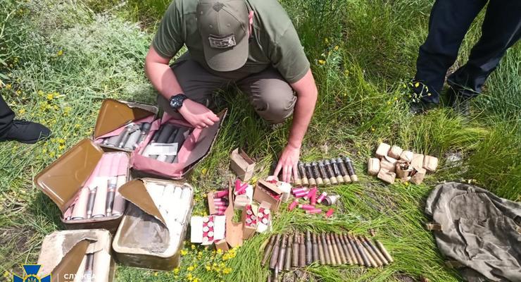 """На Луганщине нашли тайник с боеприпасами """"Войска Донского"""""""