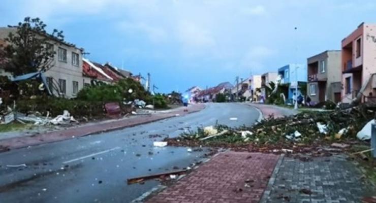 По югу Чехии пронесся сильный торнадо, есть жертвы