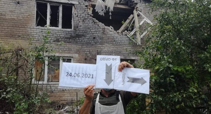 Обстрелы на Донбассе: Боевики попали по школе-интернату