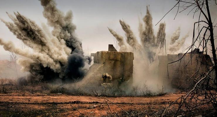Боевики обстреляли населенный пункт в своем тылу