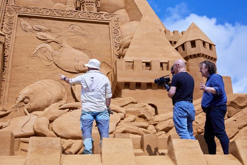 Замок из песка / euronews.com