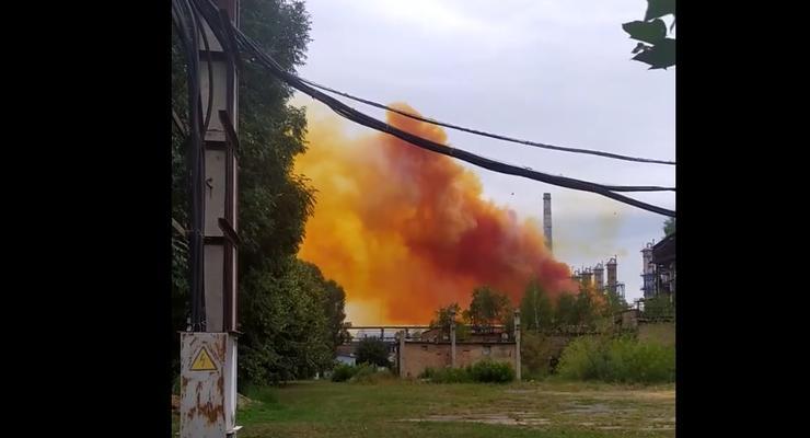 """На """"РовноАзот"""" произошел выброс химикатов"""