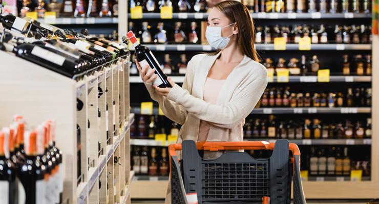Рада может запретить продажу алкоголя и сигарет в супермаркетах