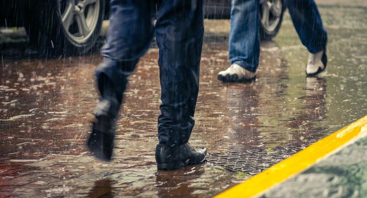 В Украине объявлено штормовое предупреждение из-за сильных ливней