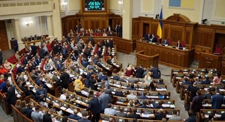 В Раде игнорируются законопроекты оппозиции - КИУ