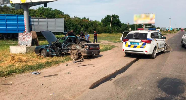 На Николаевщине произошло ДТП с участием полиции: Есть пострадавший
