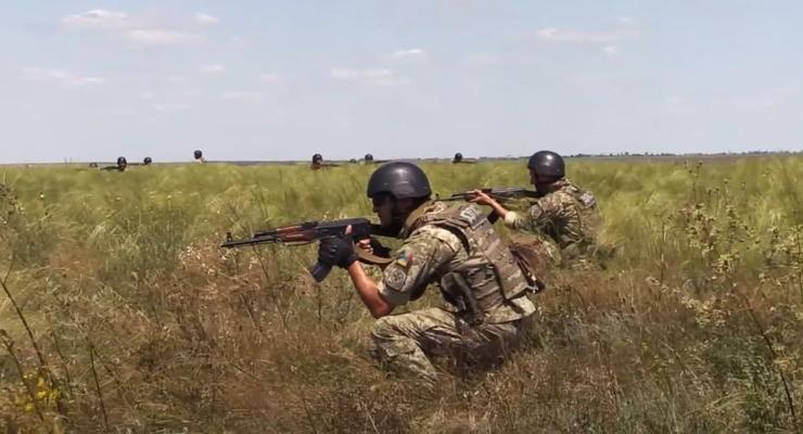 Пограничники потренировались отбивать границу при поддержке НАТО