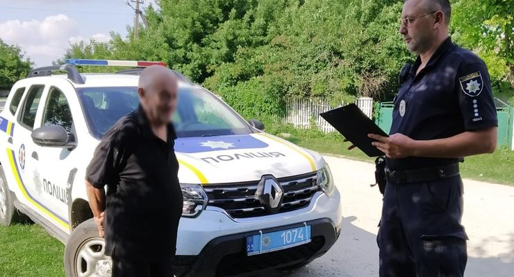 На Хмельнитчине разыскали пожилого мужчину, который пропал в марте