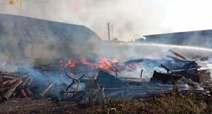 На Черниговщине из-за детских игр с огнем сгорели два дома