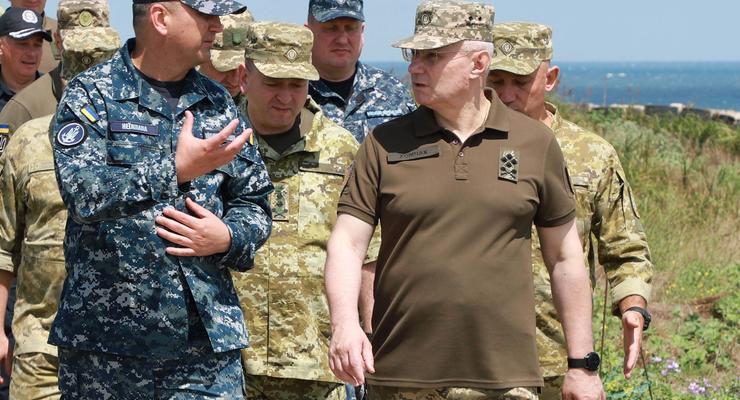 В СНБО назвали причину замены командования ВСУ