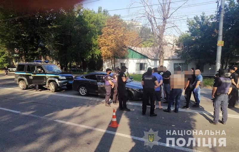 В Запорожье произошла стрельба / npu.gov.ua