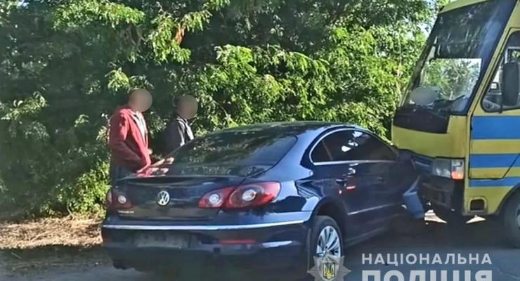 Мэр Вознесенска попал в ДТП, врезавшись в автобус