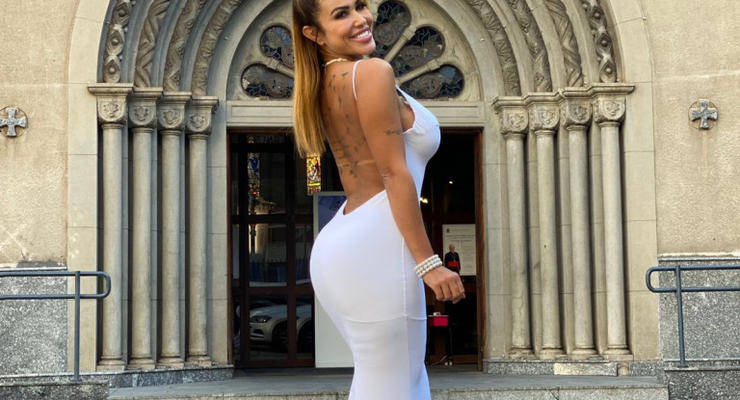 Модель из Бразилии вышла замуж сама за себя