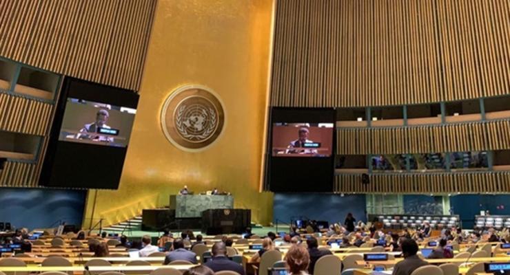 Названы главные темы сессии Генассамблеи ООН