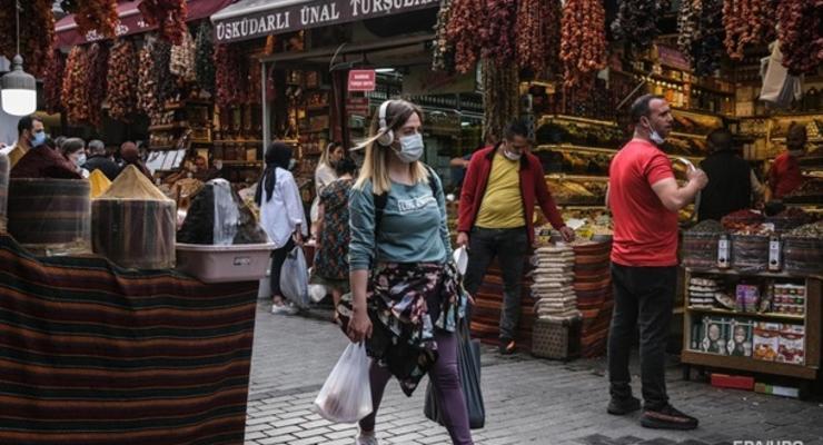 В Турции рекордный прирост коронавируса с мая