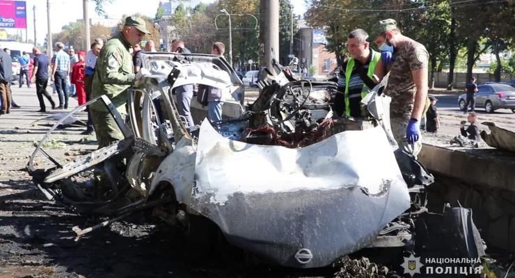 Перевозили взрывчатку: Что известно о взрыве машины в Днепре