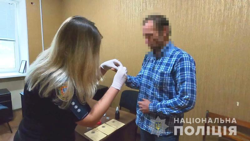 В Одессе у мужчины изъяли пять гранат / npu.gov.ua