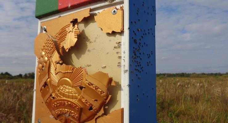 В Беларуси заявили об обстреле погранзнака со стороны Украины