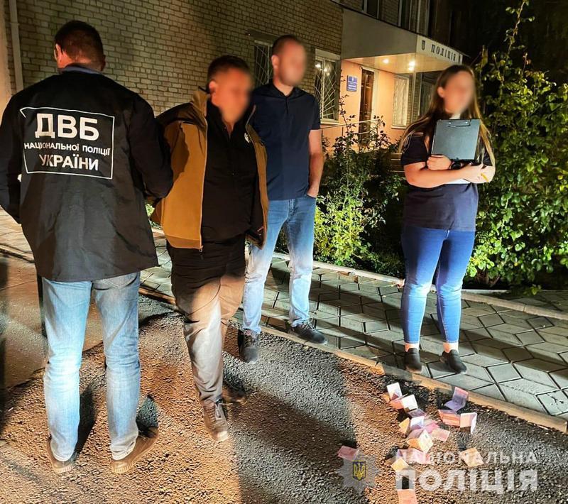 Задержание подозреваемого / npu.gov.ua