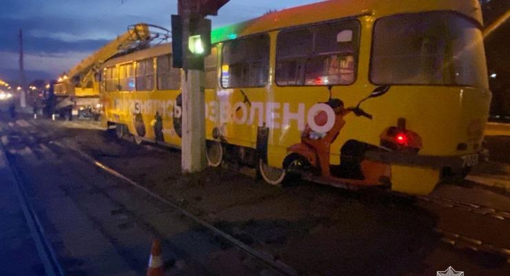 В Одессе трамвай раздавил женщину: Она умерла на месте