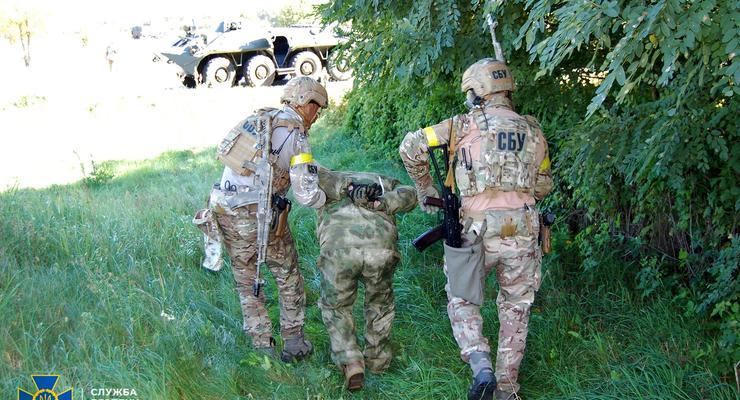 СБУ провела масштабные учения возле границы с РФ