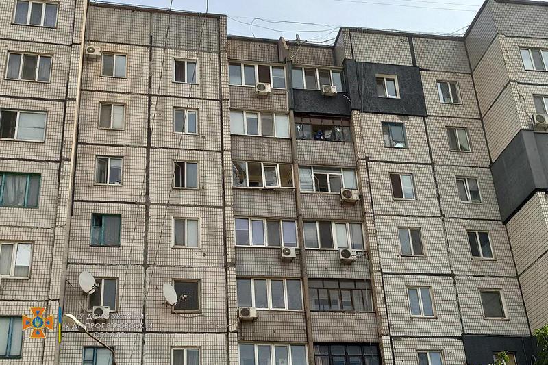Известны подробности пожара в девятиэтажке Кривого Рога  / dp.dsns.gov.ua