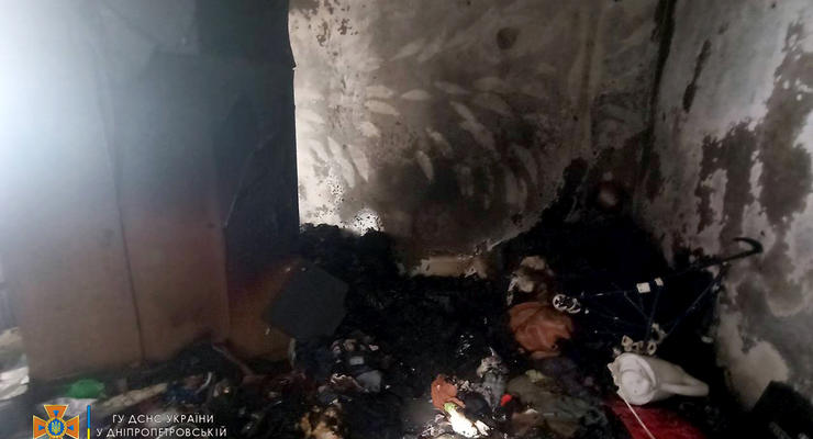 Известны подробности пожара в девятиэтажке Кривого Рога