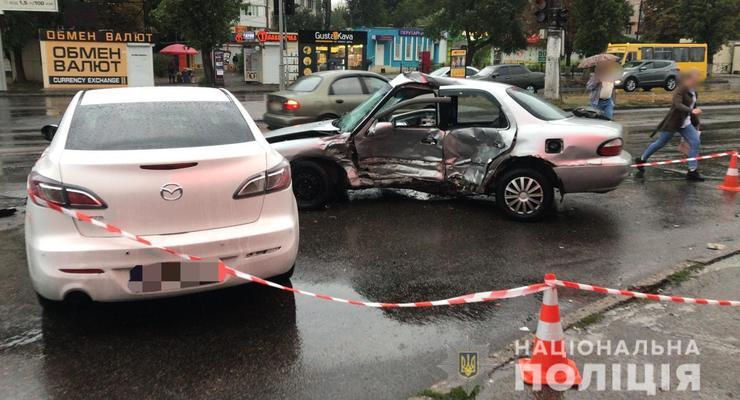 На красный свет: в Одессе полицейский устроил смертельное ДТП