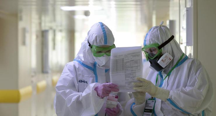 В 11 регионах Украины превышены показатели COVID-госпитализаций