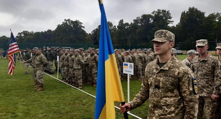 На Львовщине начались военные учения Rapid Trident-2021