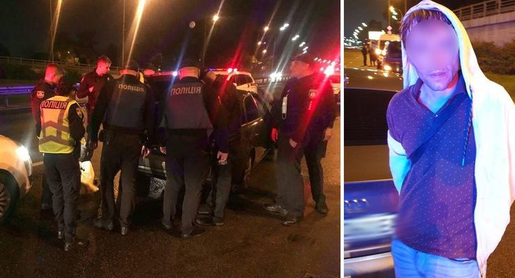 Погоня со стрельбой в Киеве: Копы 40 минут гонялись за пьяным стрелком