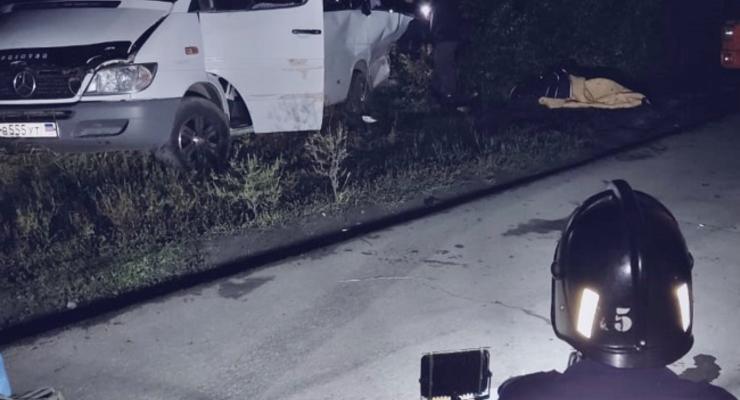 В России разбился автобус с украинцами, трое погибших