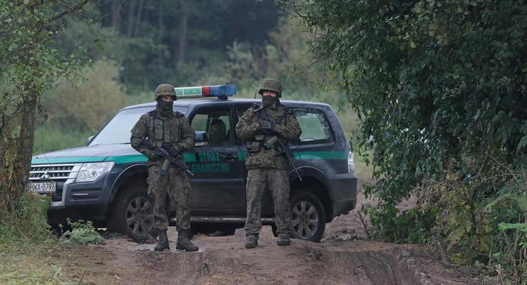 Польша направит больше солдат и техники на границу с Беларусью