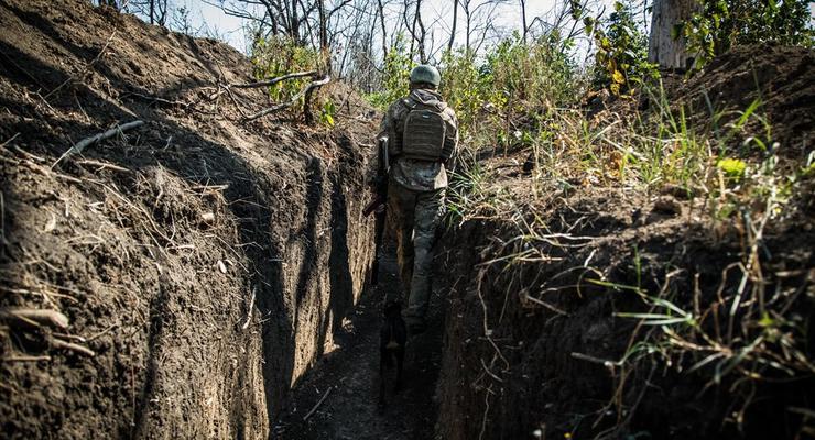 В районе ООС боевики применили запрещенное оружие
