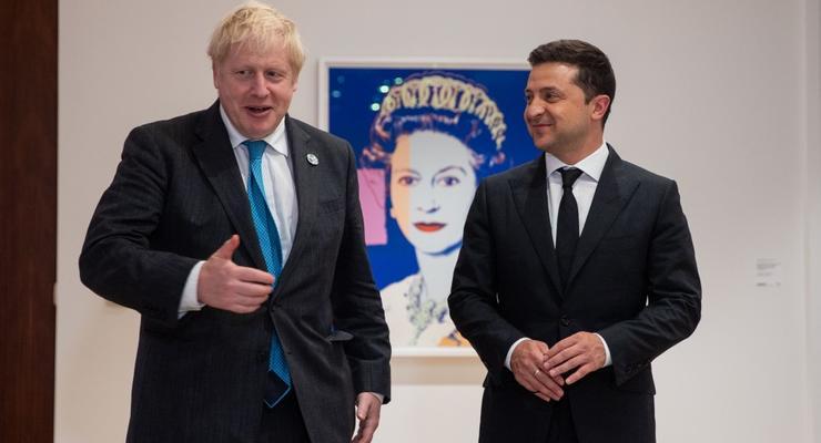 Зеленский и Джонсон оценили результаты сотрудничества Украина-Британия