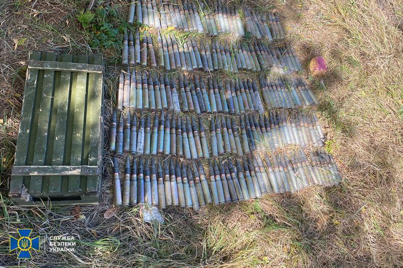 На Донбассе нашли три тайника боевиков / ssu.gov.ua