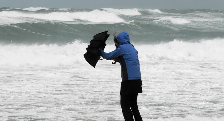 Украину атакует сильный ветер: Объявлено штормовое предупреждение