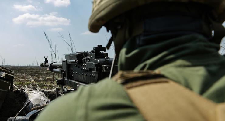 Ситуация в районе ООС: Интенсивность боевых действий снизилась
